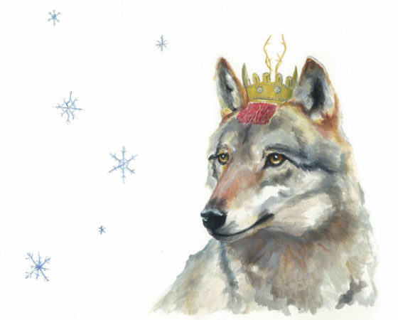 Viscountess Wolf, A Fine Art Print