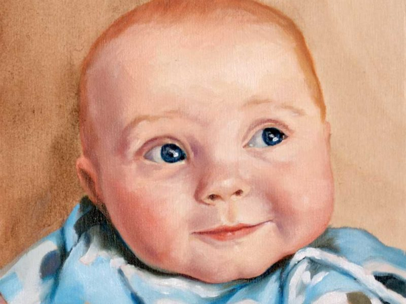 Children's Portrait – Little Beau